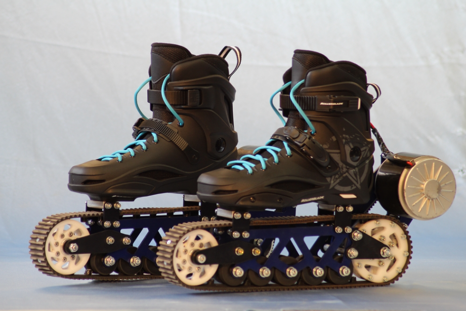 electric off road rollerblades let you skate anywhere you want. Black Bedroom Furniture Sets. Home Design Ideas