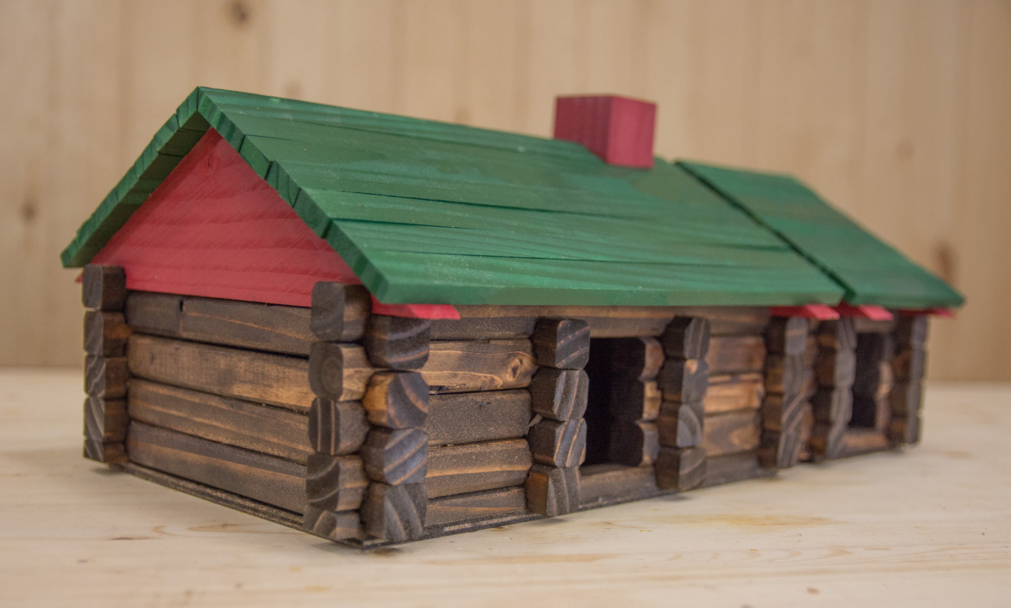 #903B3D Make Your Own DIY Lincoln Logs From Scrap Lumber with 2000x1203 px of Recommended How To Build A Lincoln Log House 12032000 save image @ avoidforclosure.info