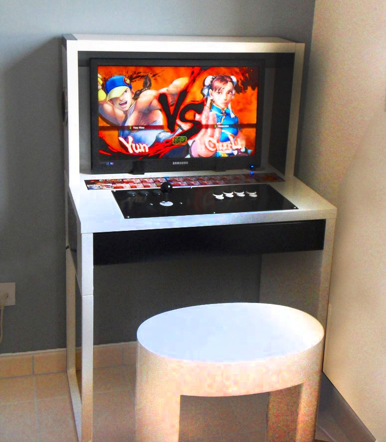 build this glorious diy arcade out of ikea parts. Black Bedroom Furniture Sets. Home Design Ideas