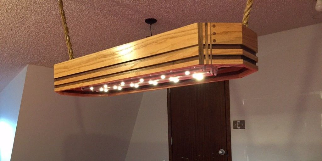 How to build a custom pool table light for Pool table light plans