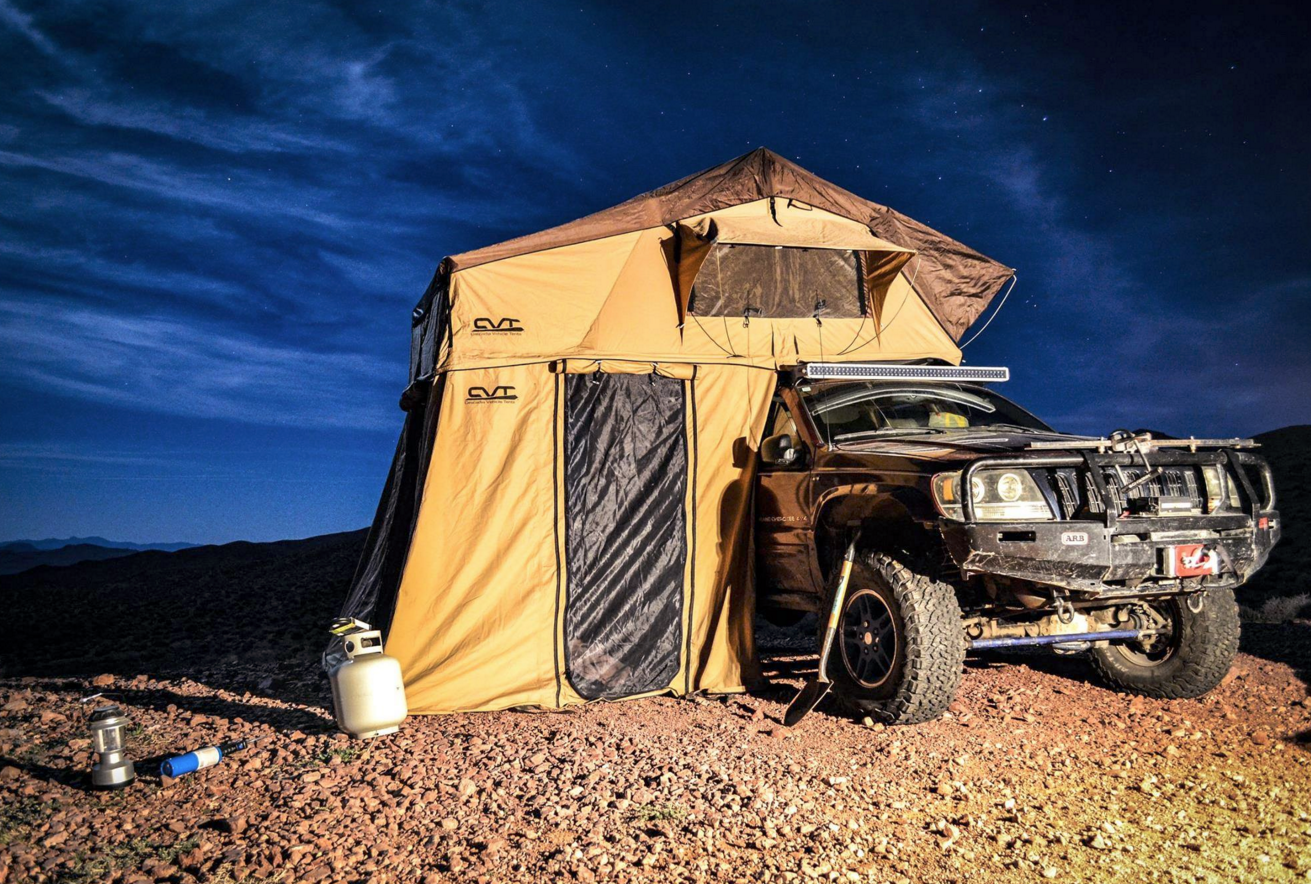 8 Stunning Roof Top Tents That Make Camping A Breeze