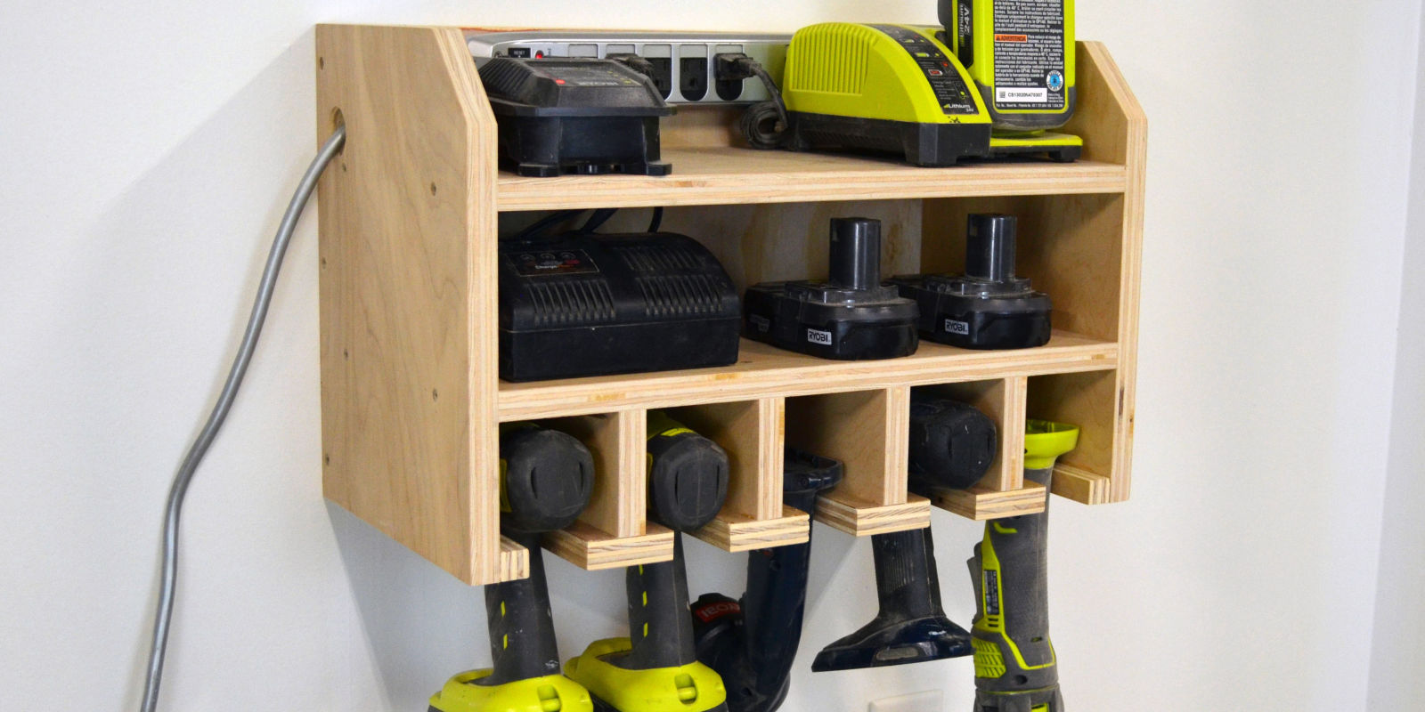 How To Build A Storage Dock For Your Cordless Drill