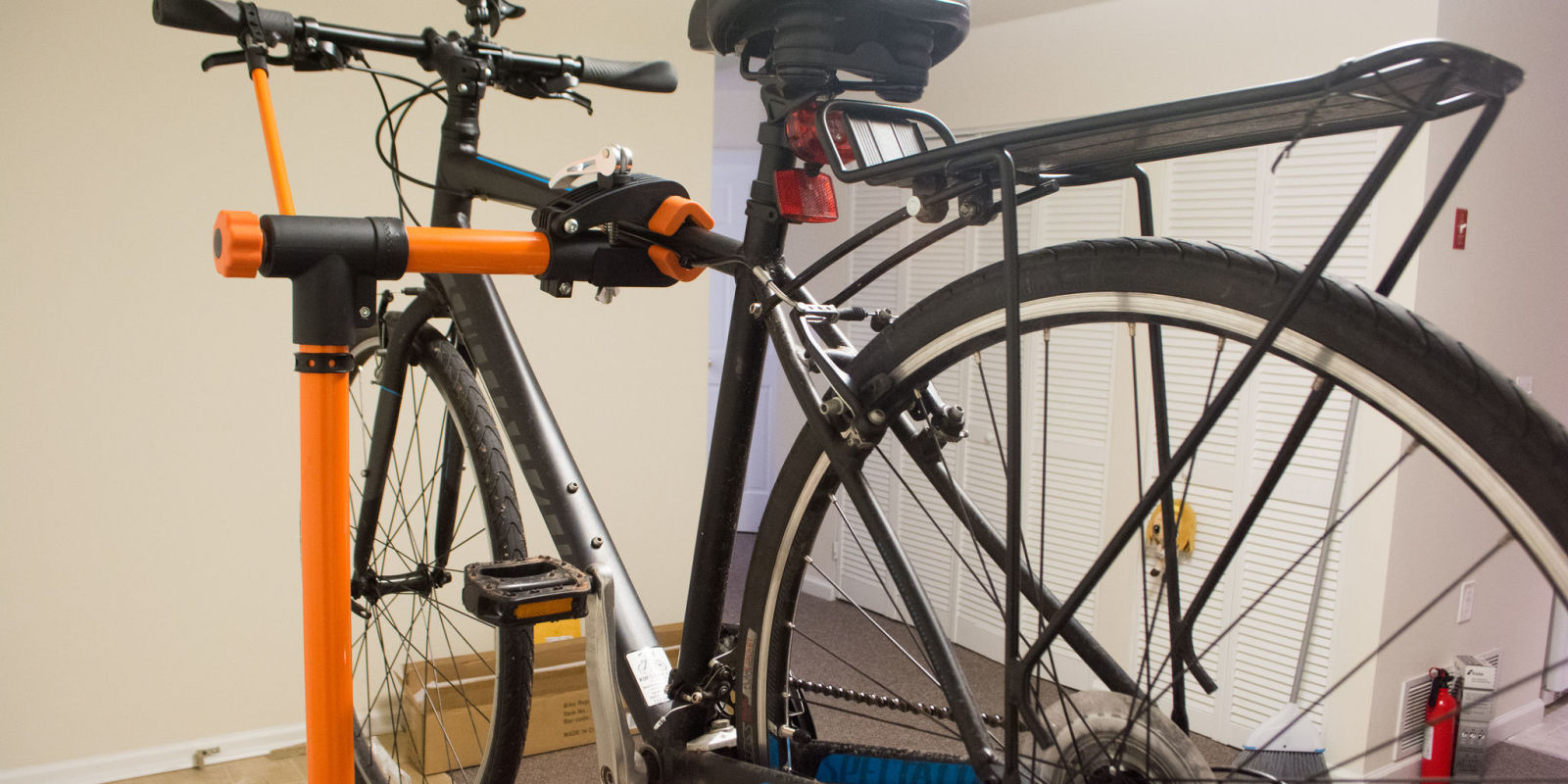 How to prepare your bicycle for spring diy bike repair for How to make a bike stand out of wood