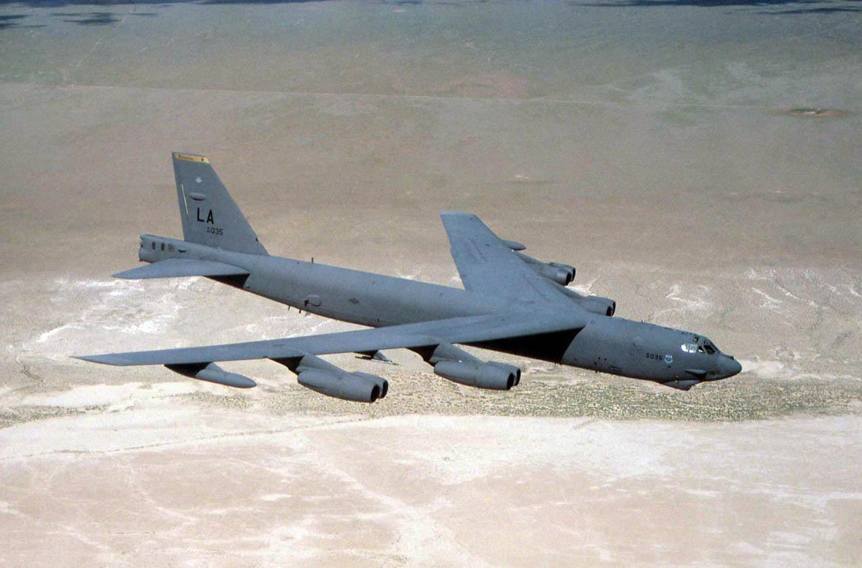 American B-52 bomber crashes in Guam - The Millennium Report