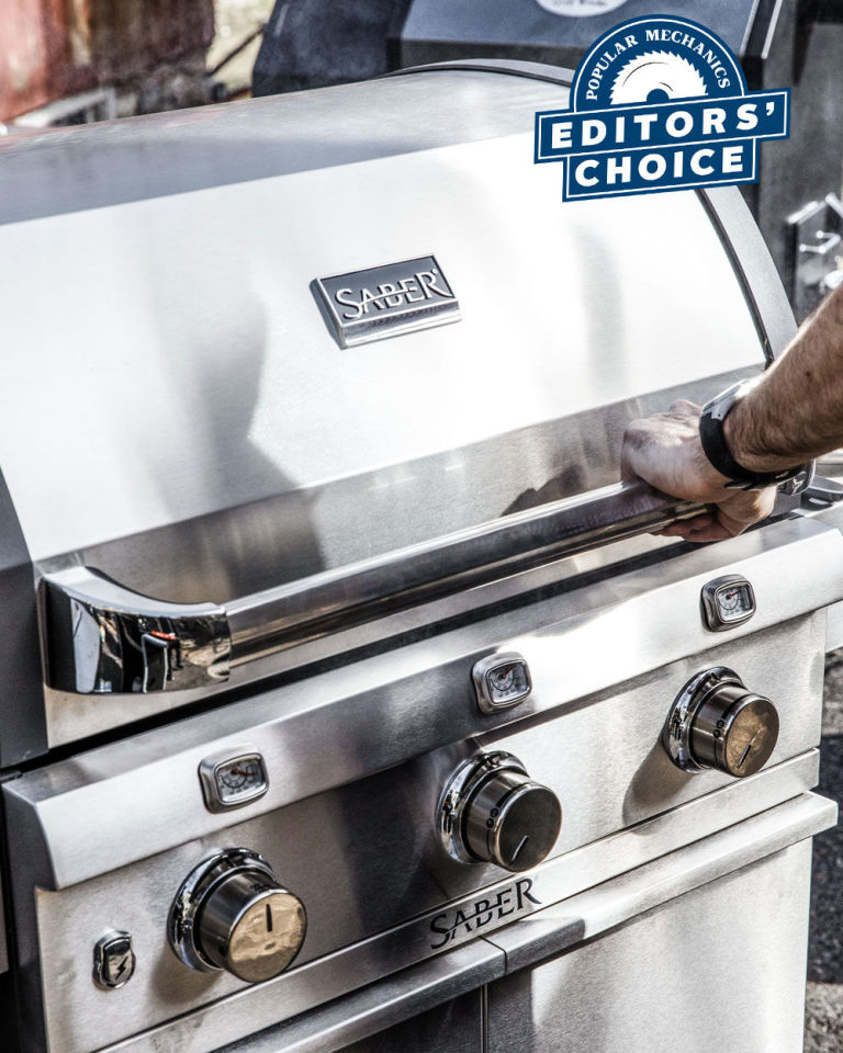 Saber Grills Wins Editors Choice in Popular Mechanics Grill Review