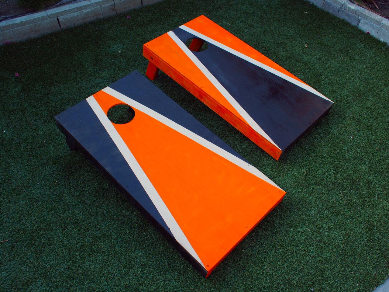 How To Make Cornhole Boards Diy Beanbag Toss Build Plans