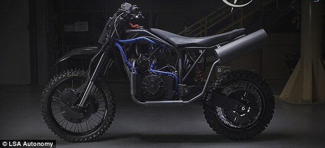 Stealth Dirtbikes For Special Forces