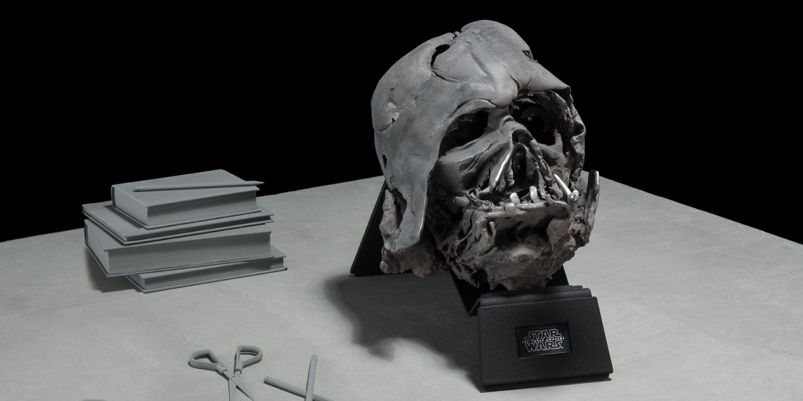 You Need The Melted Darth Vader Mask On Your Desk