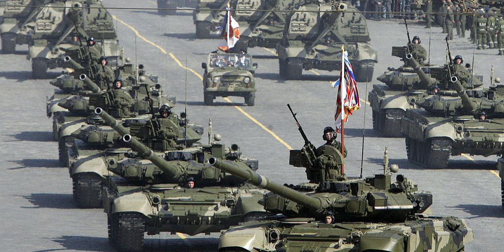 Russia's Defense Budget Is Set to Shrivel
