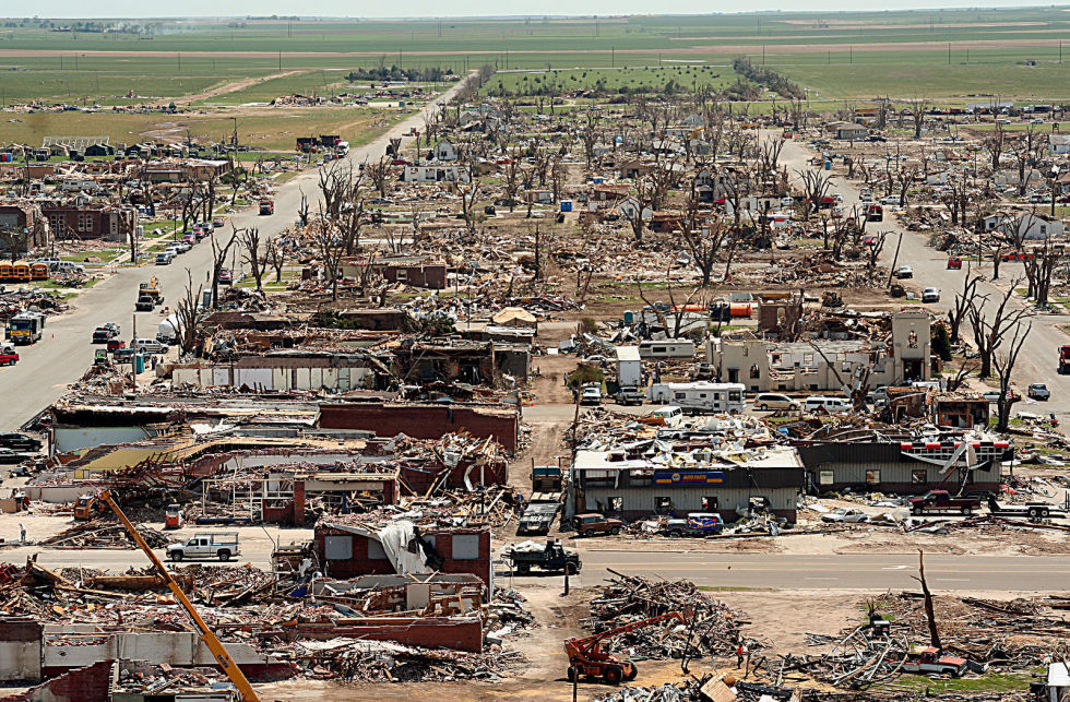 The Localized Devastating Effects Of Great Tornadoes Can Wipe A City Off The Map While