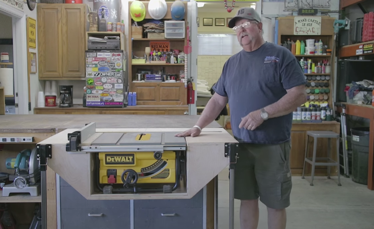 How To Build A Table For Your Jobsite Table Saw