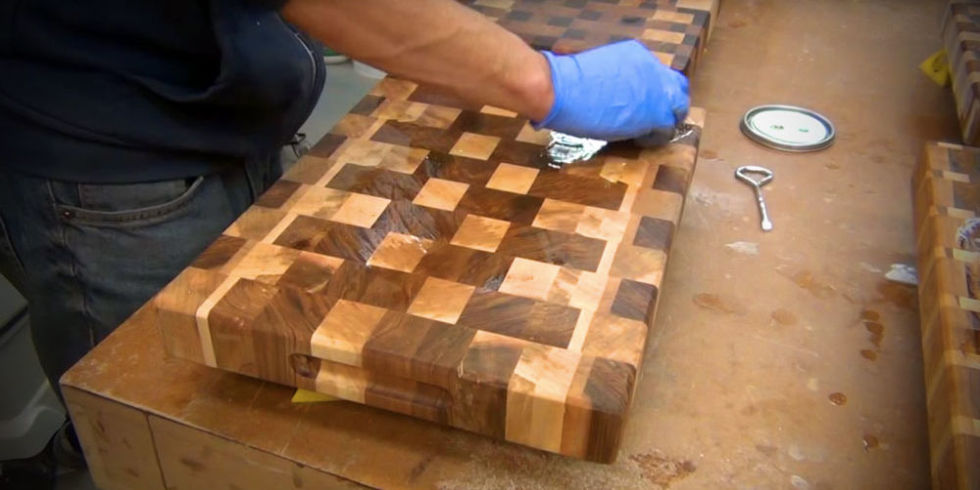 how to make a stylish cutting board from scrap wood, Kitchen design