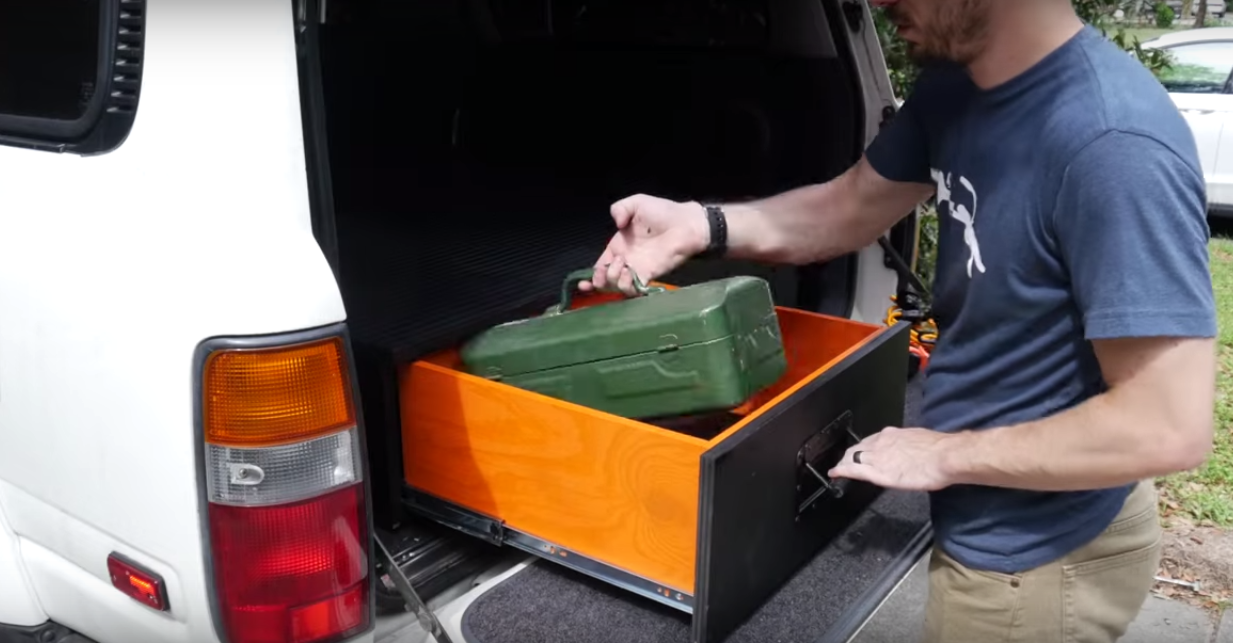 Truck Tool Box With Drawers >> How to Build a DIY Tool Cabinet for Your SUV | Truck Box ...