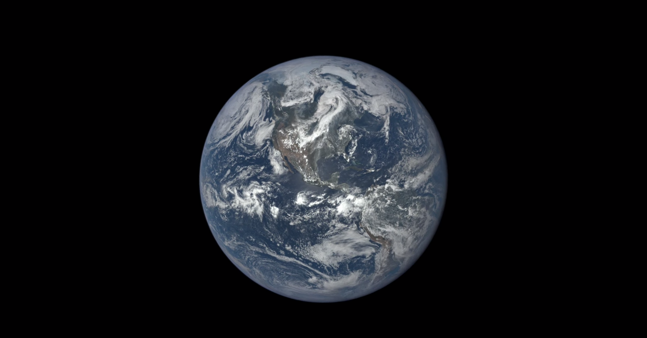 Watch the Earth Spin Through One Year in 2 Minutes