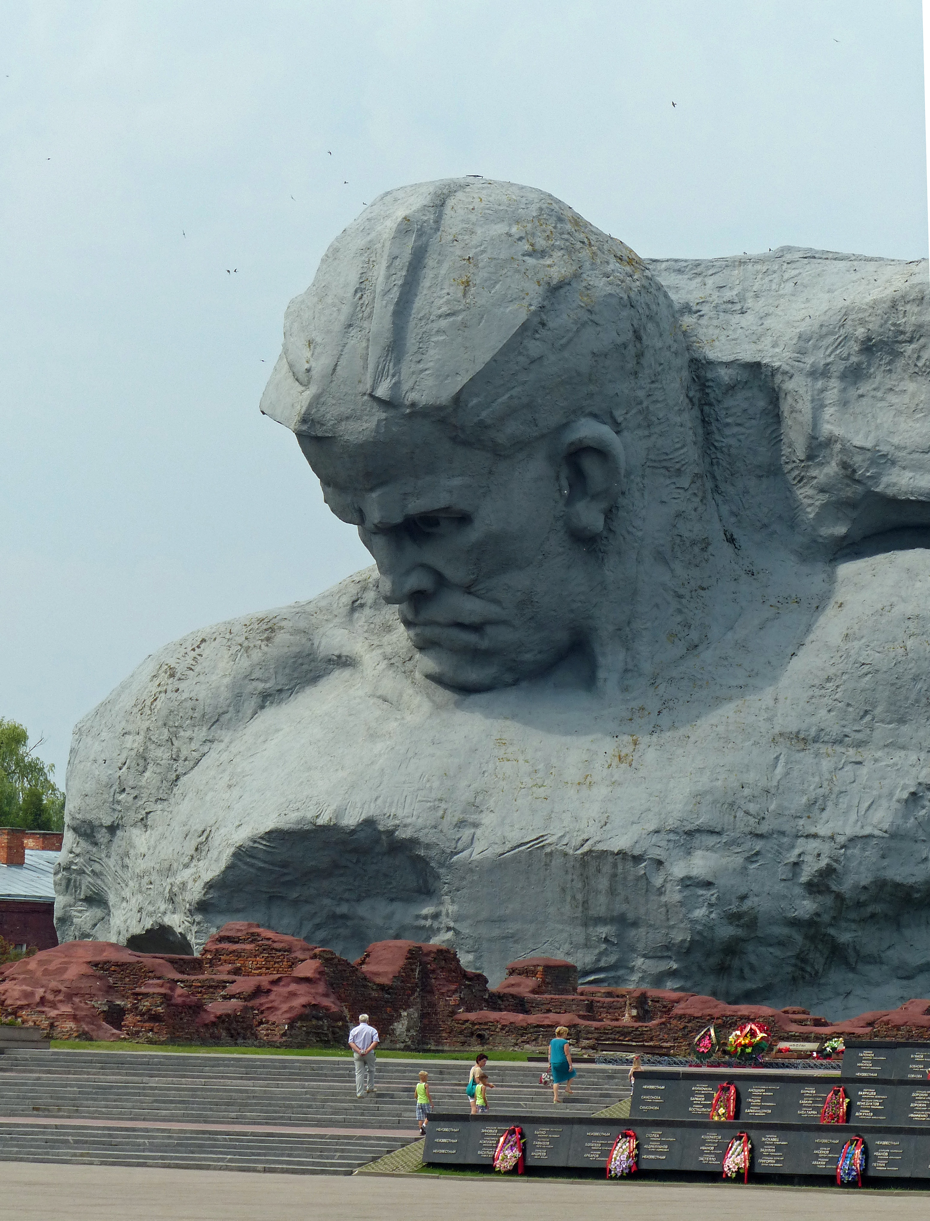 The greatest statue you ve never seen is a foot soviet