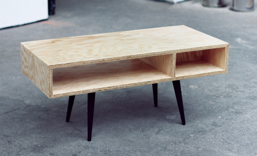 Plywood Coffee Table Part 5