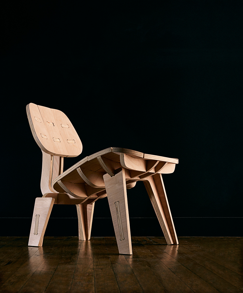 Build Your Own Beautiful Flat Pack Chair