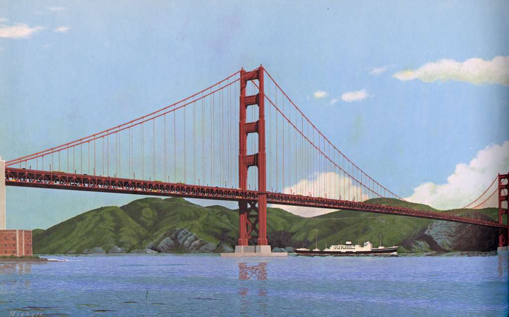 31 Images Of The Golden Gate Bridge That Never Was