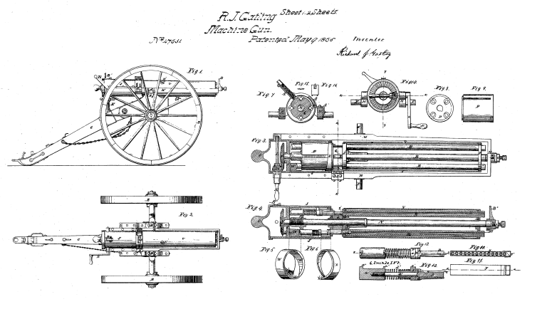 The Story of the Gatling Gun : Why you still know the name