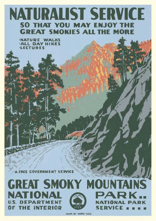 Charming Vintage National Park Posters Part - 13: Popular Mechanics
