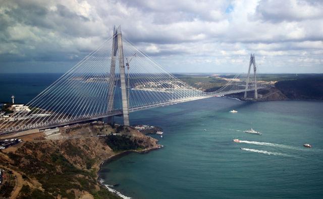 Turkey Adds New Massive Bridge Between Europe And Asia