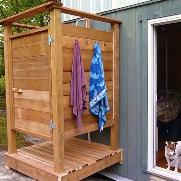 How To Build An Outdoor Bathroom: How To Build An Outdoor Shower