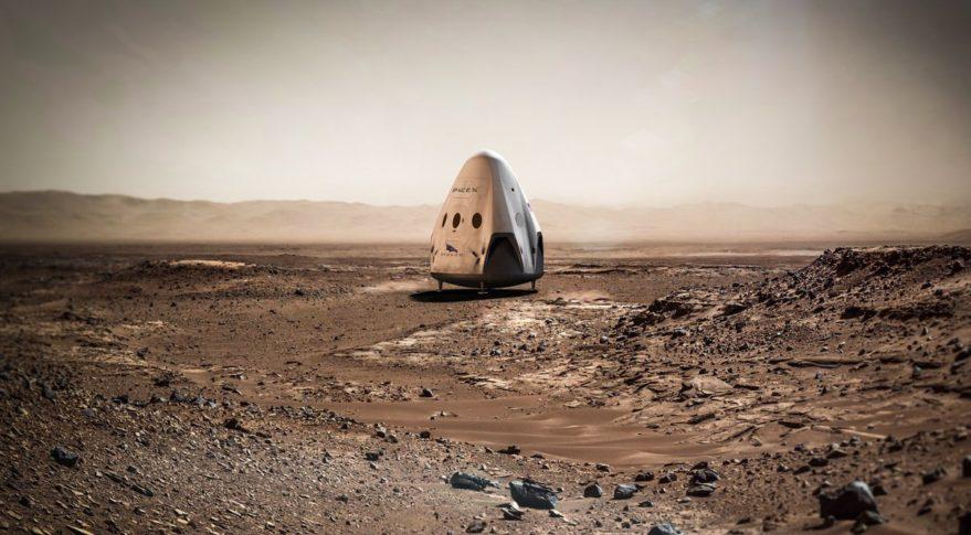 NASA Isn't Racing SpaceX To Mars