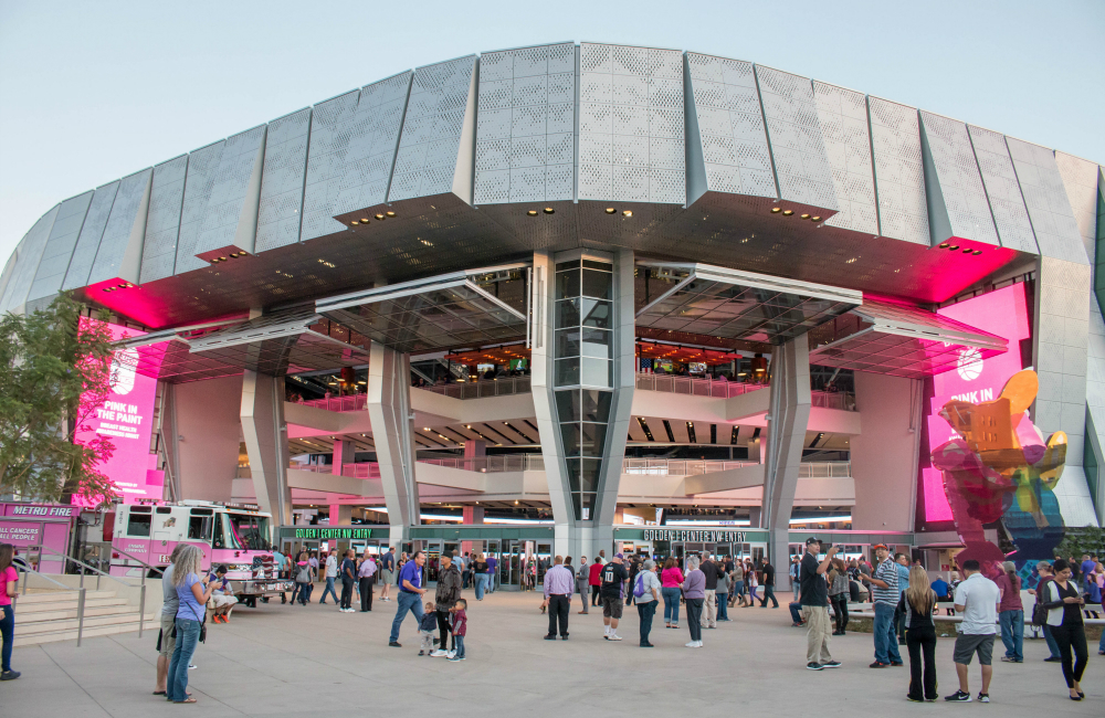 Why The Nba S Newest Arena Has Colossal Aircraft Hangar