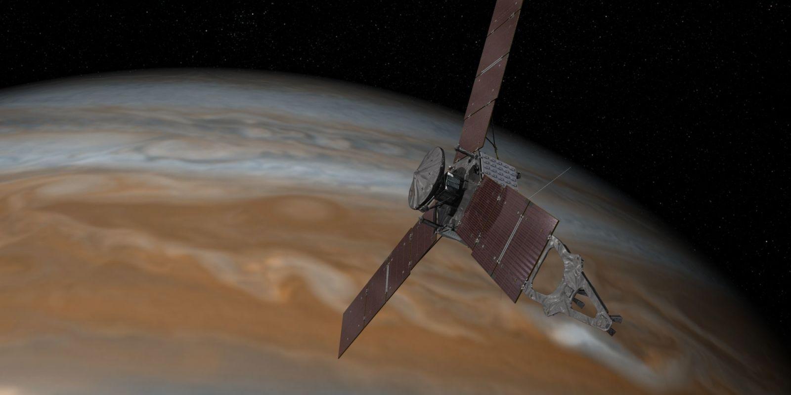 NASA's Juno Spacecraft Malfunctioned While In Orbit Around Jupiter