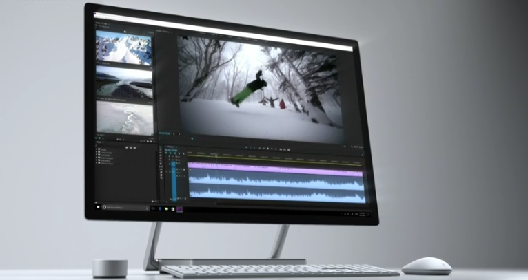 Surface Studio Is the Slickest Desktop Computer You've Ever Seen