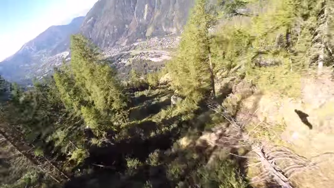 Terrifying wingsuit crash illustrates why wingsuits are a bad idea - Military wingsuit ...