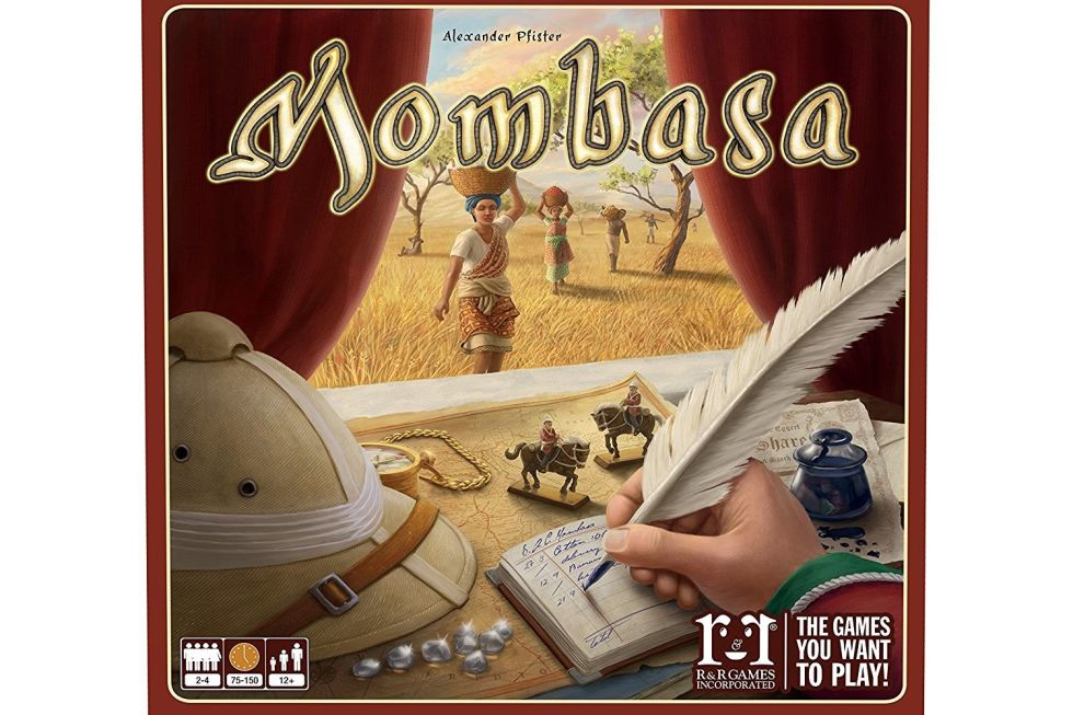 Mombasa Board Game