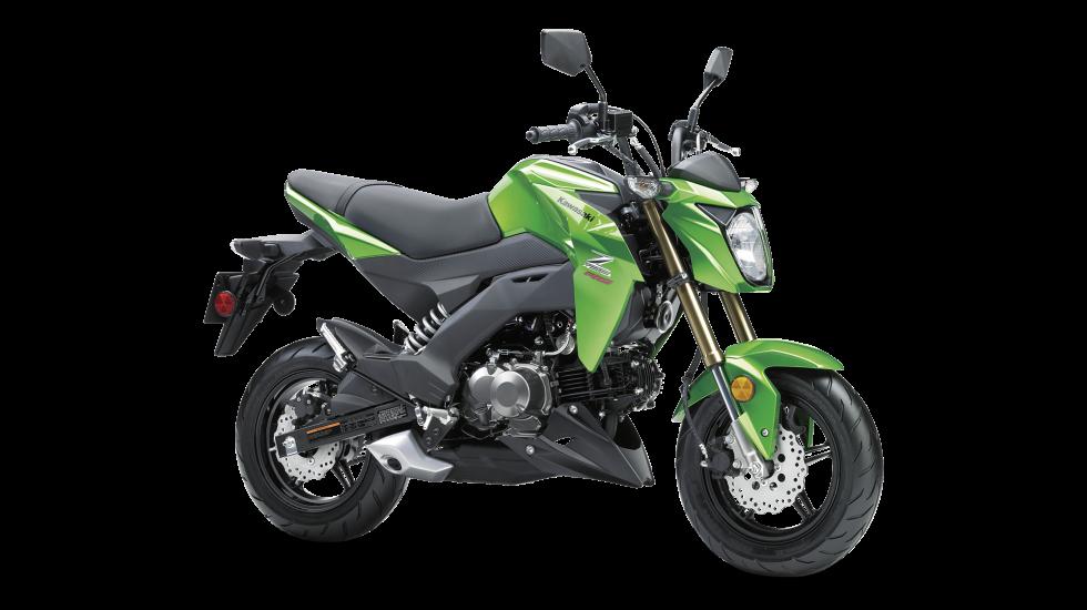 attractive mortorcycle #4: 2017 Kawasaki Z125 Pro