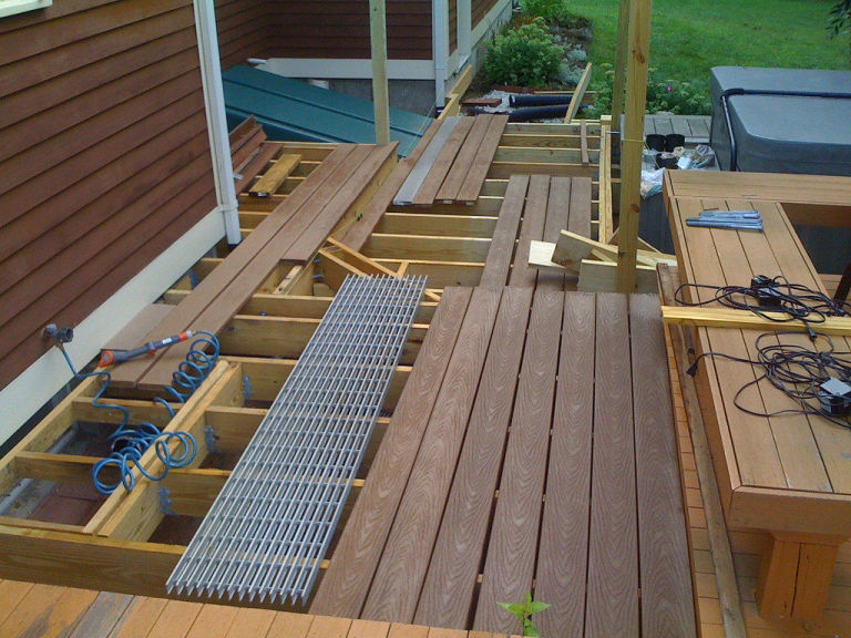 how to build a deck in your backyard - easy deck building plans - Deck