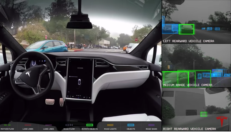 Moving Company Reviews >> Here's What Tesla's Autopilot Sees When It Drives