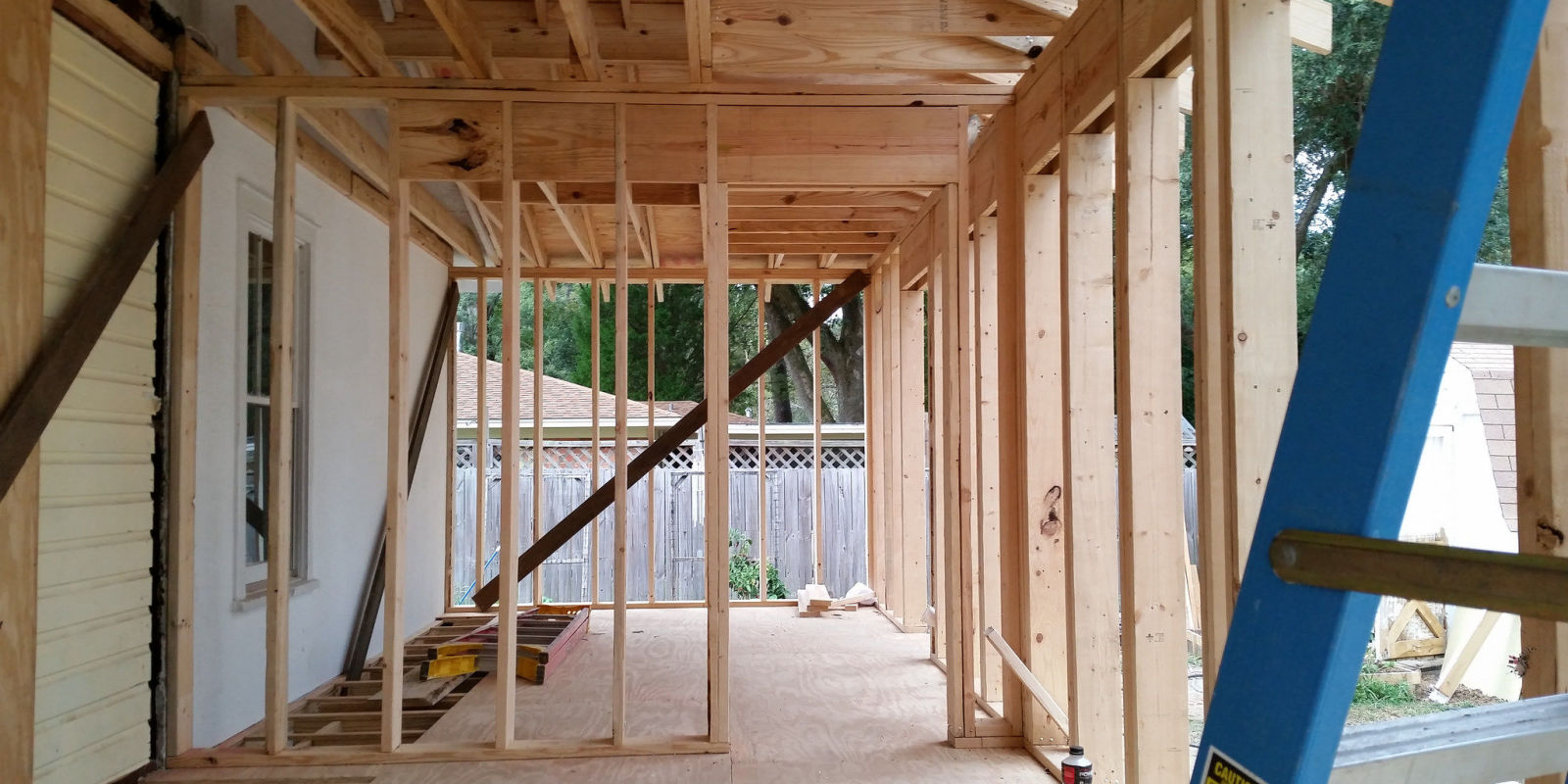 Framing Partition Wall : How to frame a wall partition