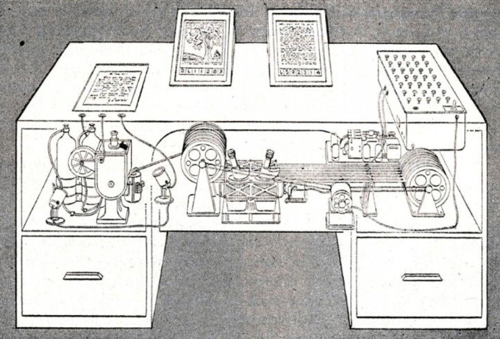 Le Memex imaginé par Vannevar Bush