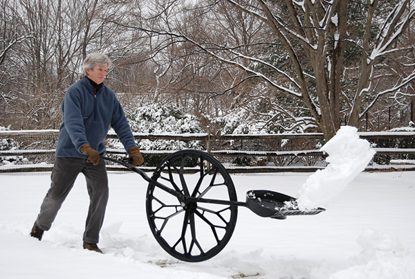 This Wheeled Device Will Change the Way You Shovel Snow