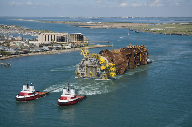 7 of the worlds biggest and baddest offshore structures
