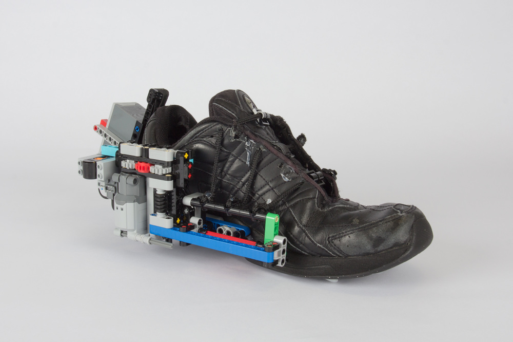 Build Your Own Future With Lego Self Lacing Shoes