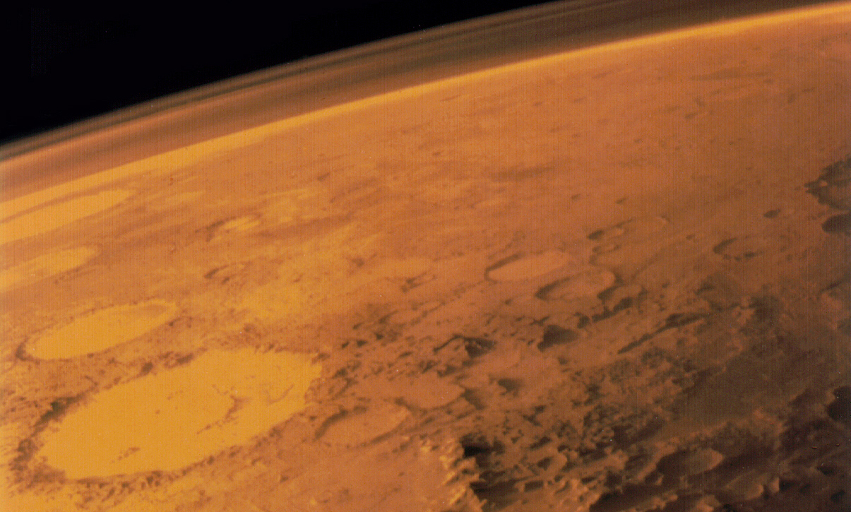 Mars Spacecraft Finds Evidence of Gigantic Martian Lake