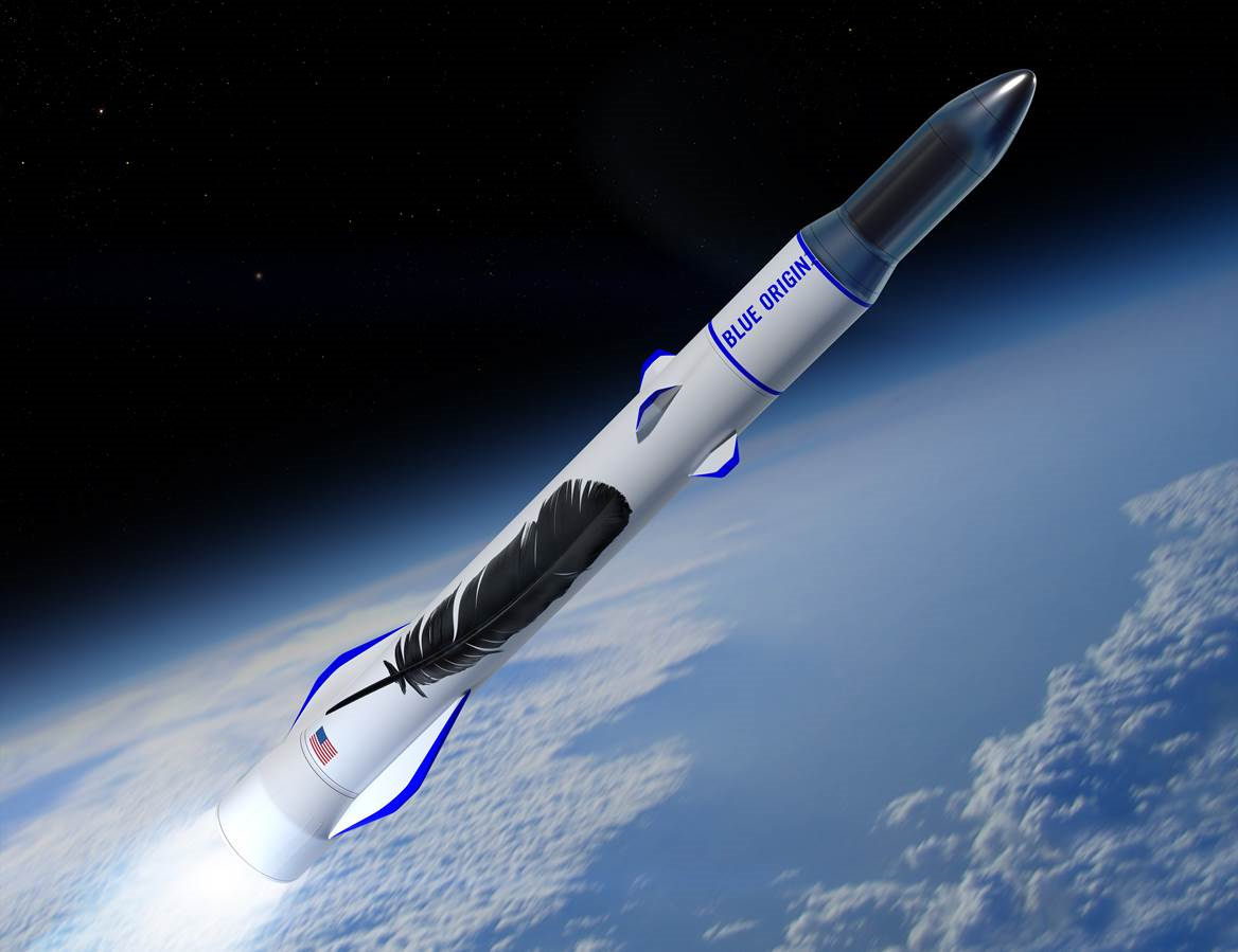 There Will Be No Toilets Or Barf Bags On Blue Origin Rockets
