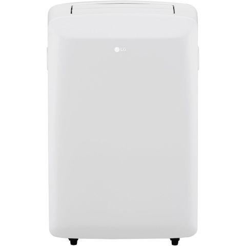 G LP0817WSR 8,000 BTU 115V Portable Air Conditioner With Remote Control In  White Portable Air Conditioner