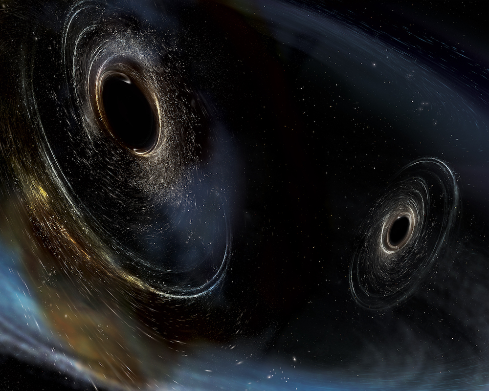 Two Black Holes Orbiting Each Other Are Surprisingly Close ...