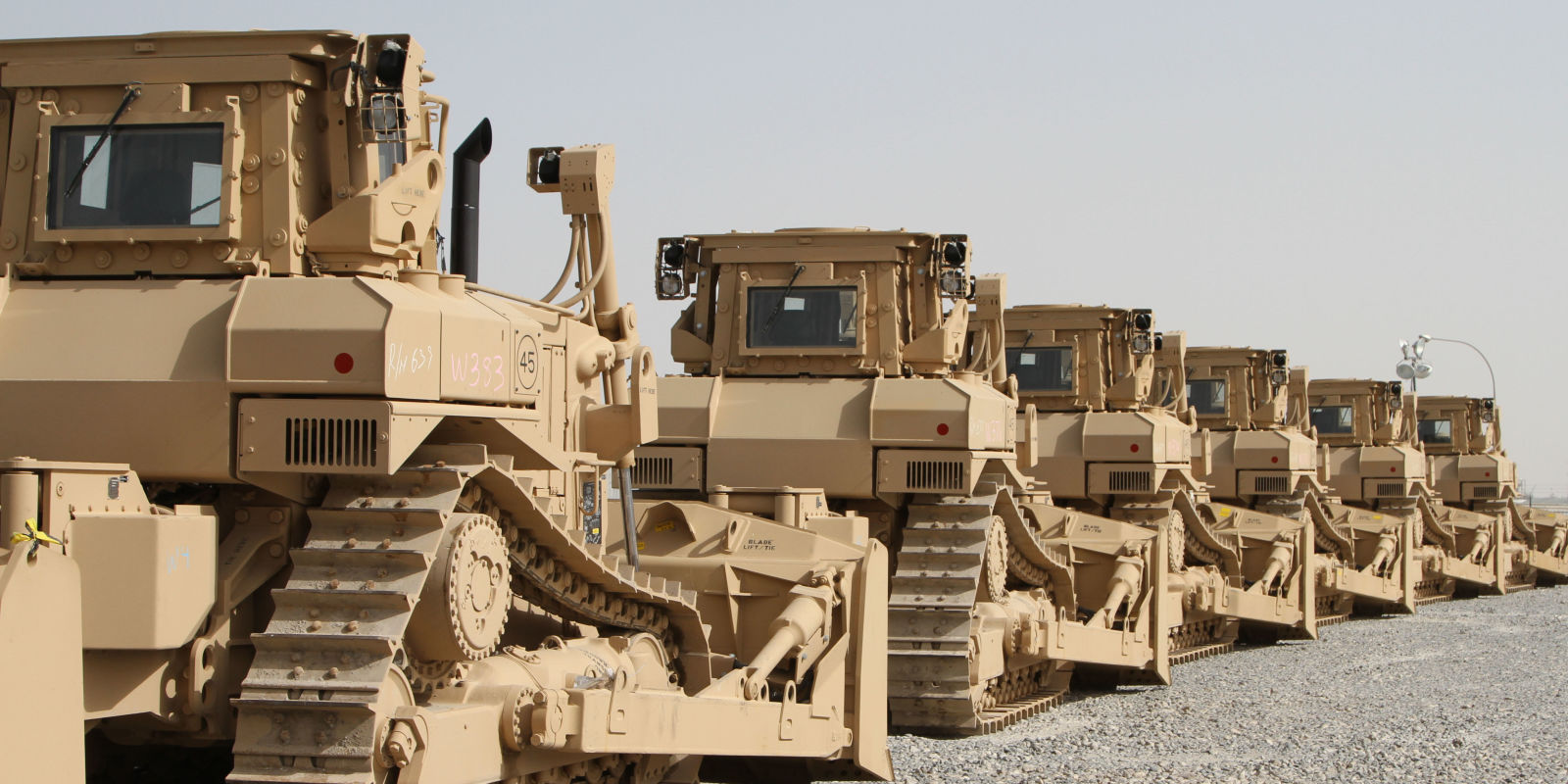 Caterpillar Bulldozers Are Leading The Fight Against The