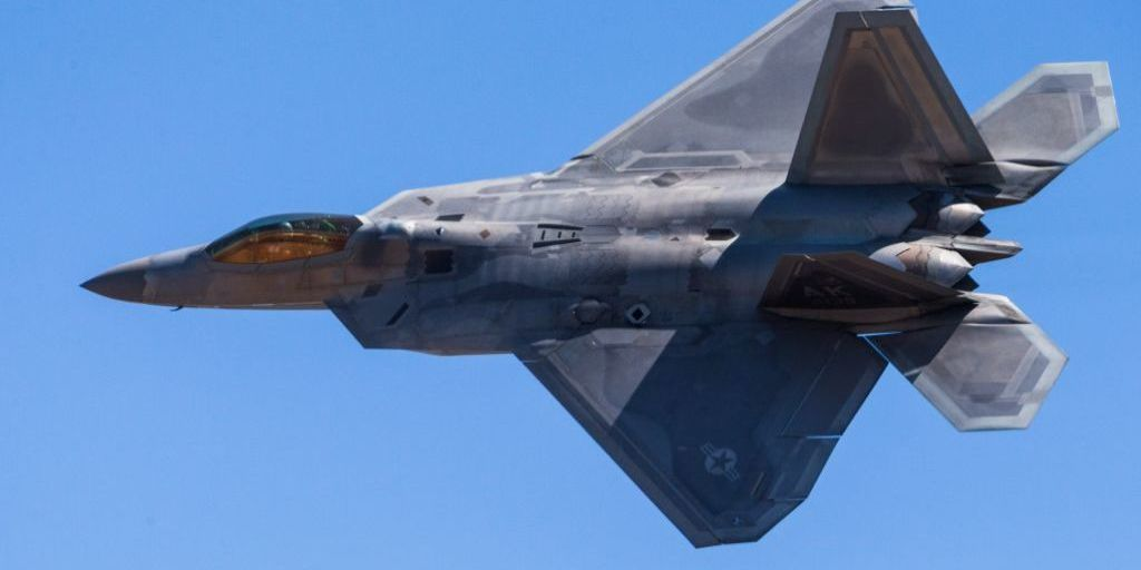 F 22 Raptor Fighter Jet Could Fly Until 2060 The U S Air