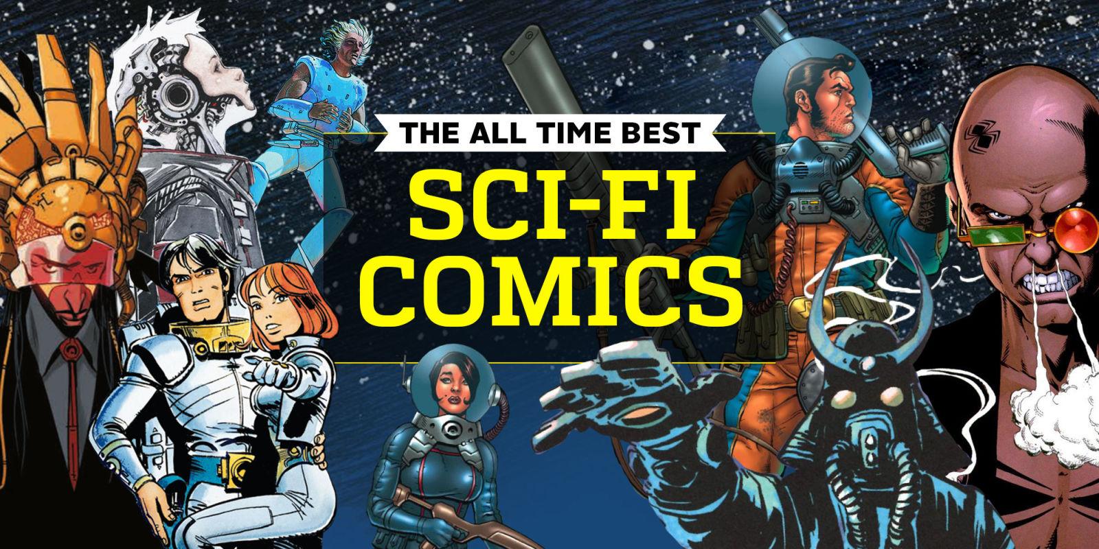 The 25 Best Sci Fi Comics