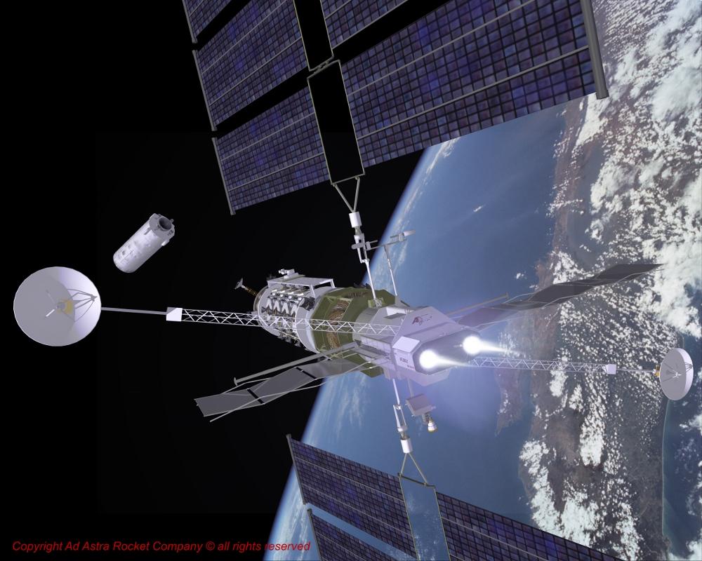 NASA's New Plasma Rocket Ready For Testing