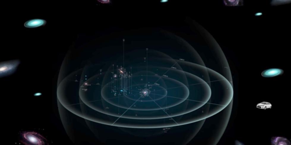 Infinite Universe - Magazine cover
