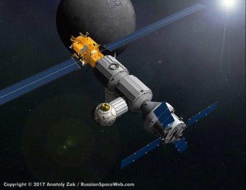 luna space station - photo #4